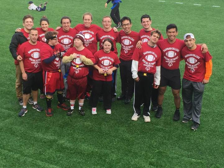 Harvard Special Olympics: Ready For Flag Football! T-Shirt Photo