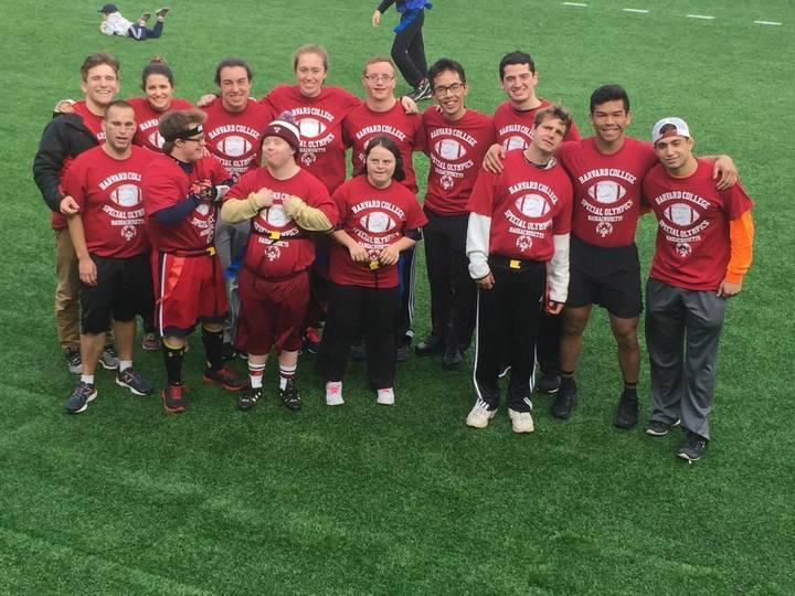 Harvard Special Olympics: Ready For Flag Football! T-Shirt Photo