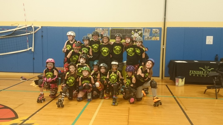 Nerdy Jr. Roller Derby T-Shirt Photo