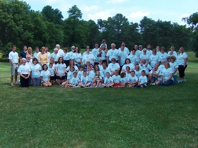 Potts Family Reunion T-Shirt Photo