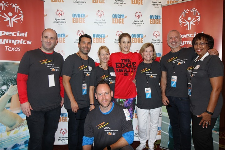 "Going ""Over The Edge"" To Support Special Olympics Texas! T-Shirt Photo"