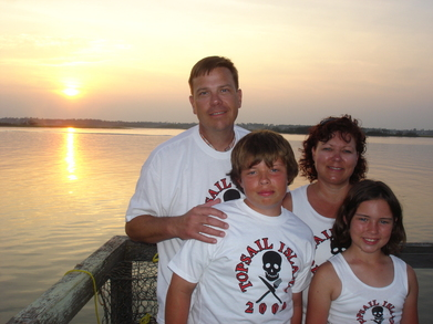 The Chews At Sunset On Topsail Island Nc T-Shirt Photo