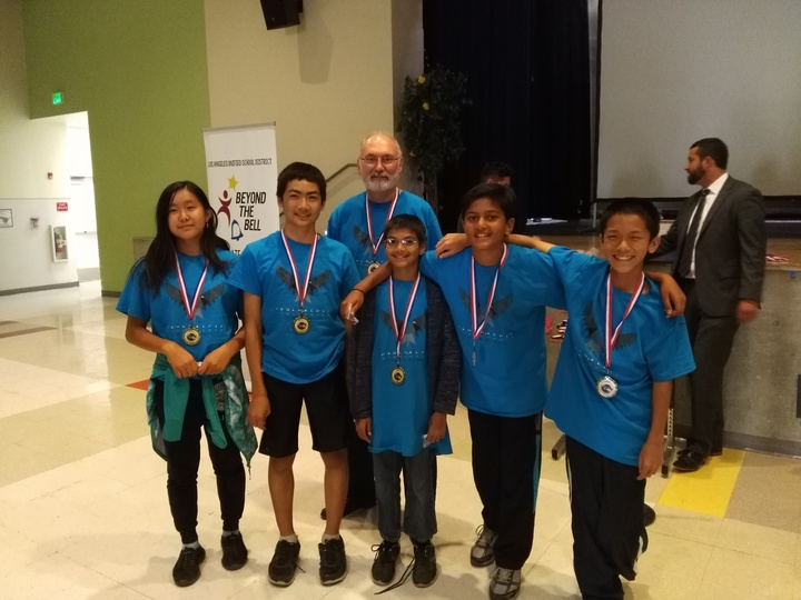 Winning First Place At Cyber Day La T-Shirt Photo