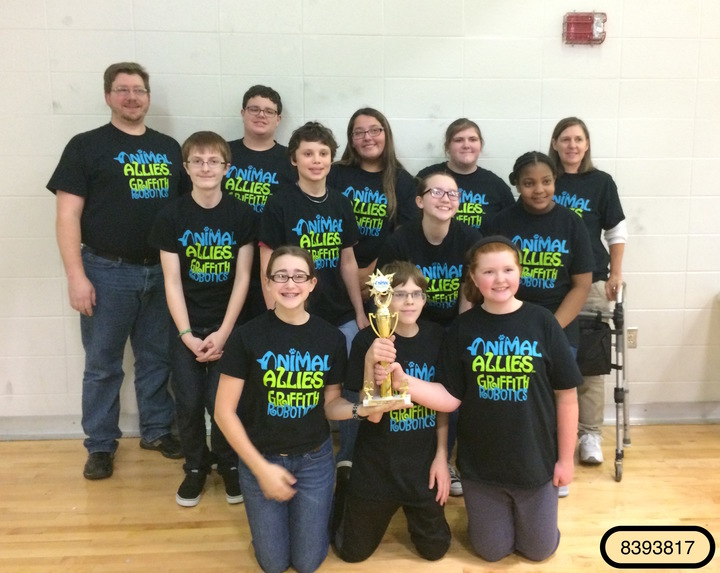 Griffith Robotics Team Panther Botz T-Shirt Photo