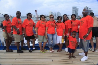 Family & Friends Fun Cruise T-Shirt Photo