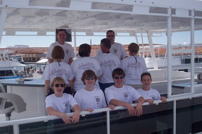 50th Anniversary On Lake Powell T-Shirt Photo
