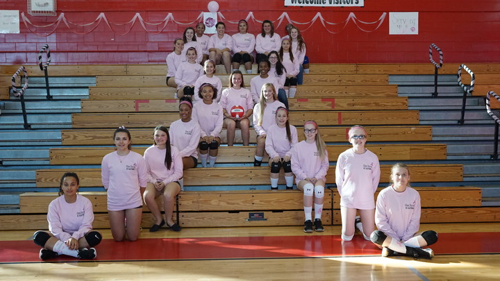 Glen Burnie Hs Pink Out T-Shirt Photo