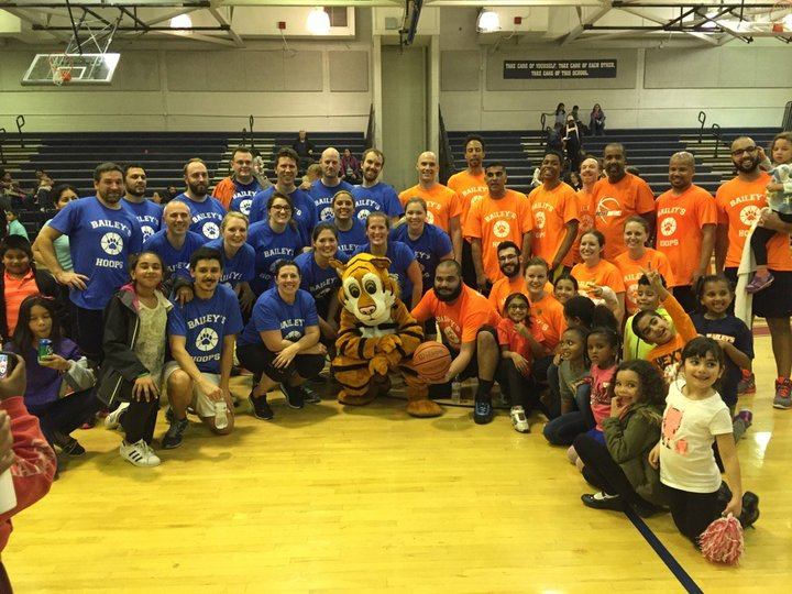 Bailey's Es Annual Parent Staff Hoops Game T-Shirt Photo