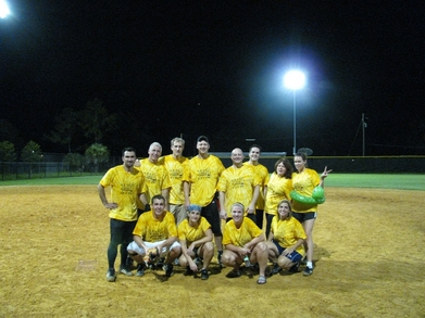 Peep Show Softball Summer T-Shirt Photo