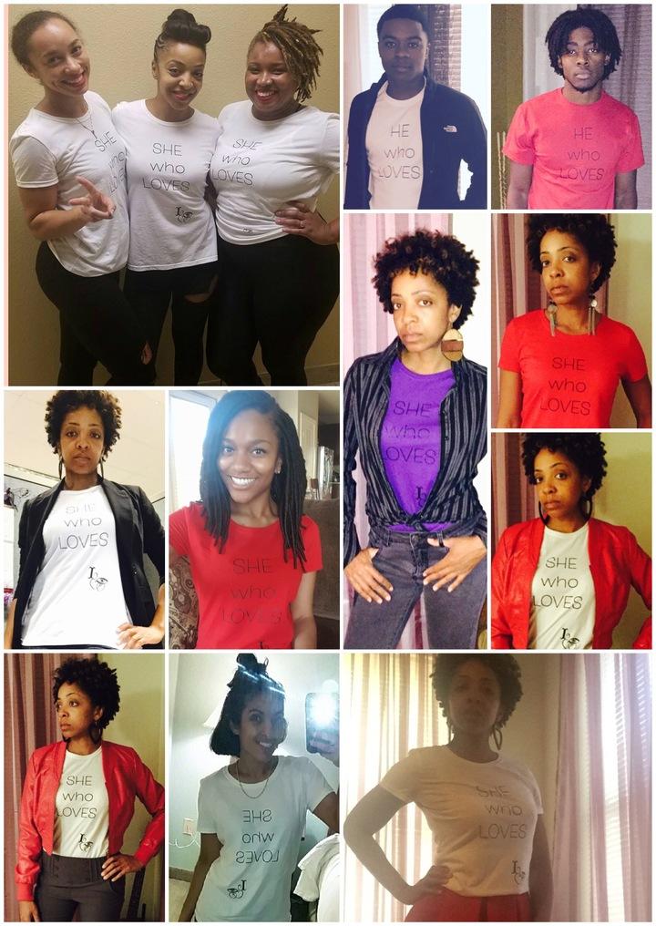 She/He Who Loves T-Shirt Photo