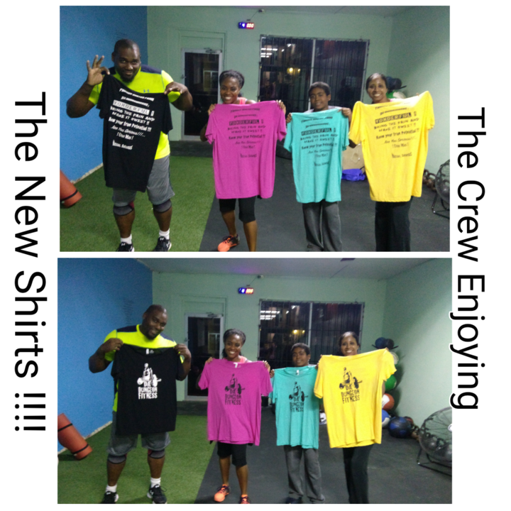 Da Dungeon Fitness Rocking Custom Ink !!!! T-Shirt Photo