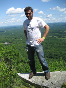 On The Edge T-Shirt Photo