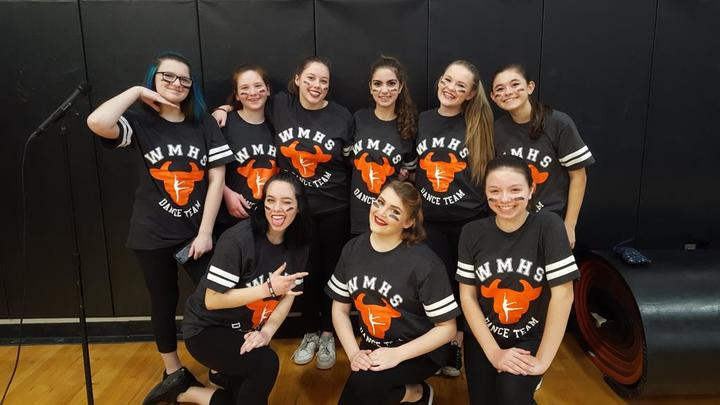 Dance Team Takes On Pep Rally! T-Shirt Photo