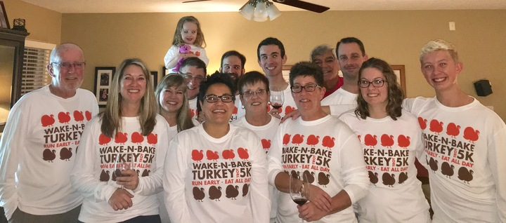 2016 Turkey Trot T-Shirt Photo