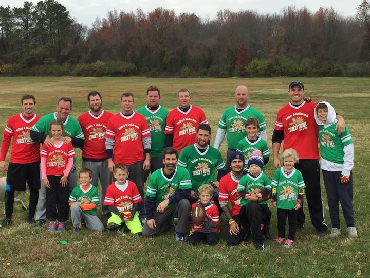 Family Turkey Bowl 2016 T-Shirt Photo