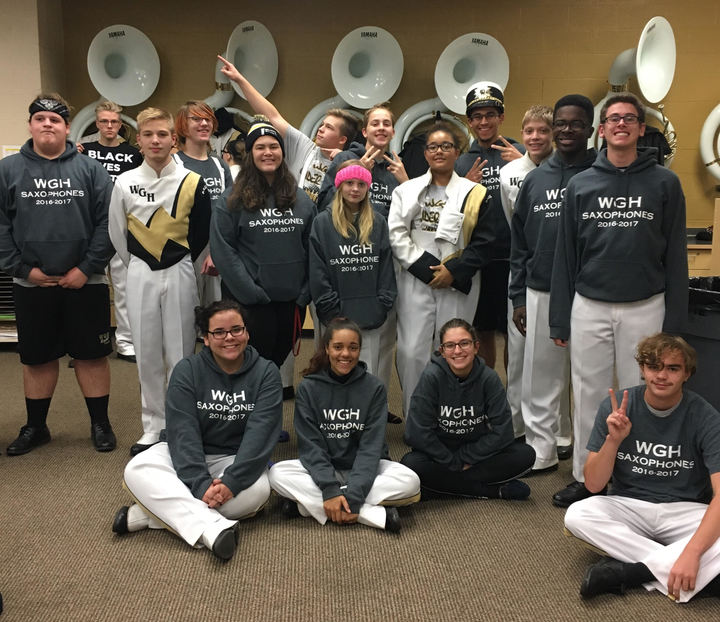 Wgh Saxophone Section 2016 2017 T-Shirt Photo