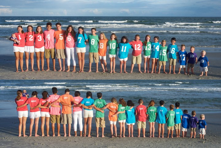 The Grandkids Take The Beach T-Shirt Photo