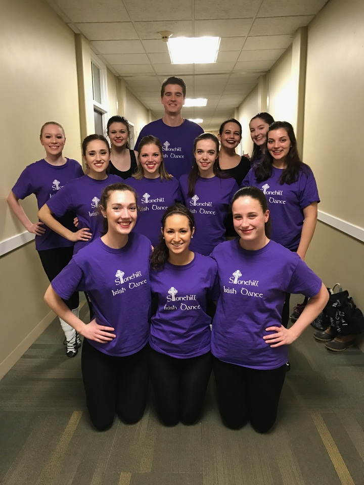 Stonehill Irish Dance Troupe T-Shirt Photo