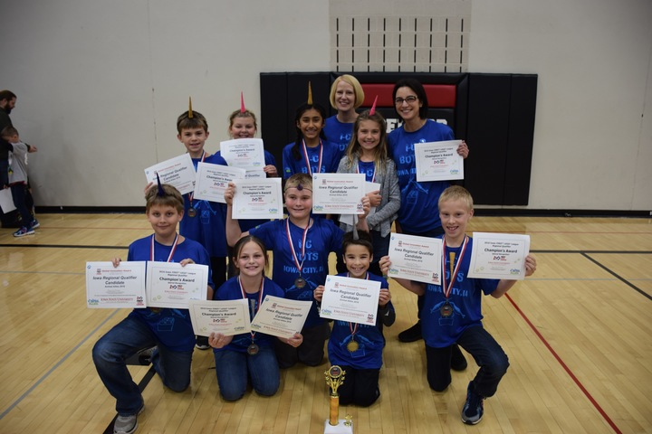 I C Bots First Lego League Regional Champions  T-Shirt Photo