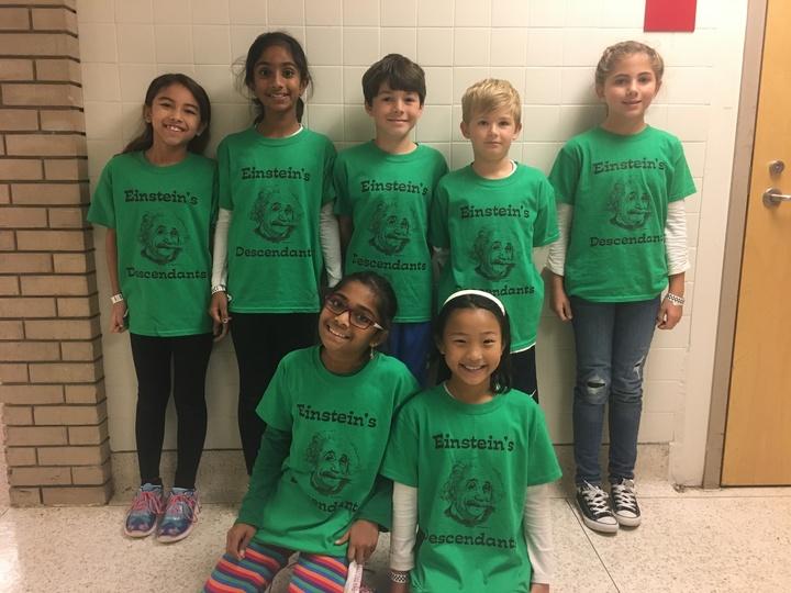 Einstein's Descendants T-Shirt Photo