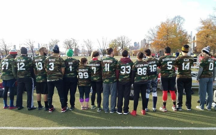 Football Team Incognito T-Shirt Photo