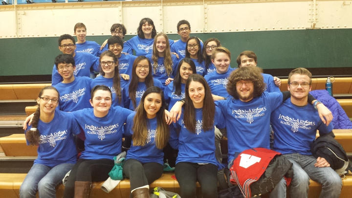 Science Olympiad Rocks! T-Shirt Photo