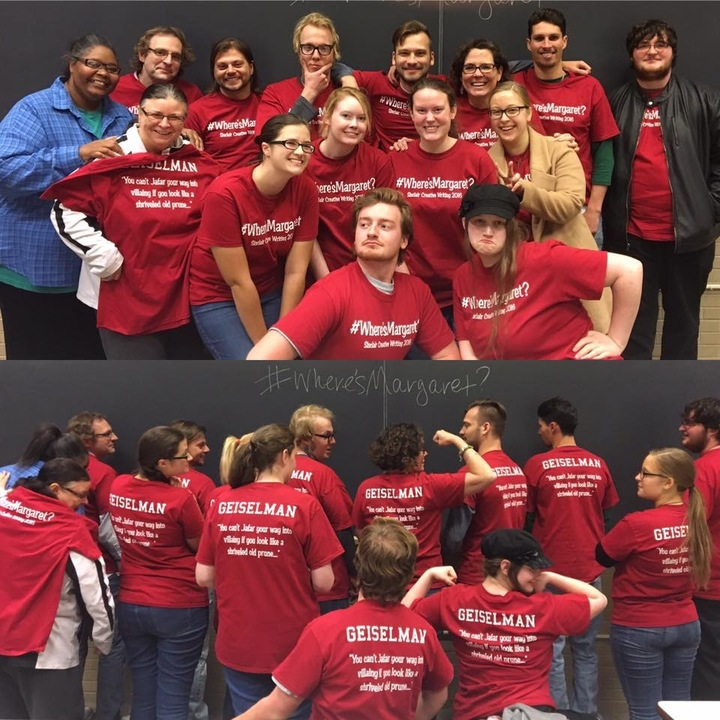Geiselman's Creative Writers T-Shirt Photo