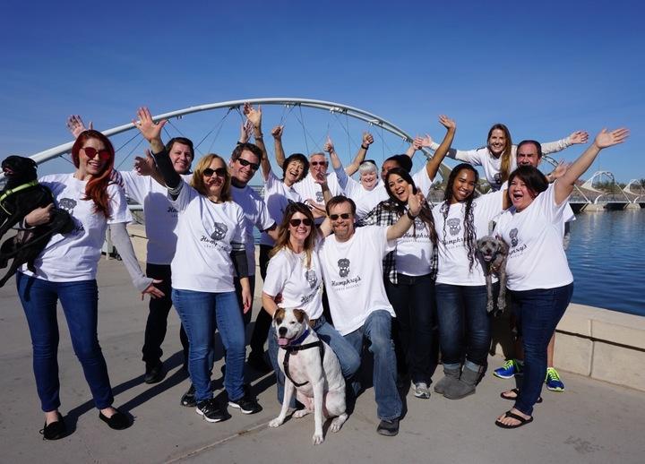 Humphrey's Leash Briagde, Llc Company Launch! T-Shirt Photo
