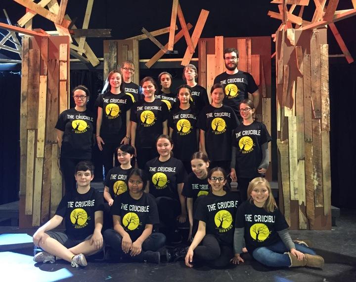 The Woodward Drama Club Loves Their Custom Ink T Shirts T-Shirt Photo