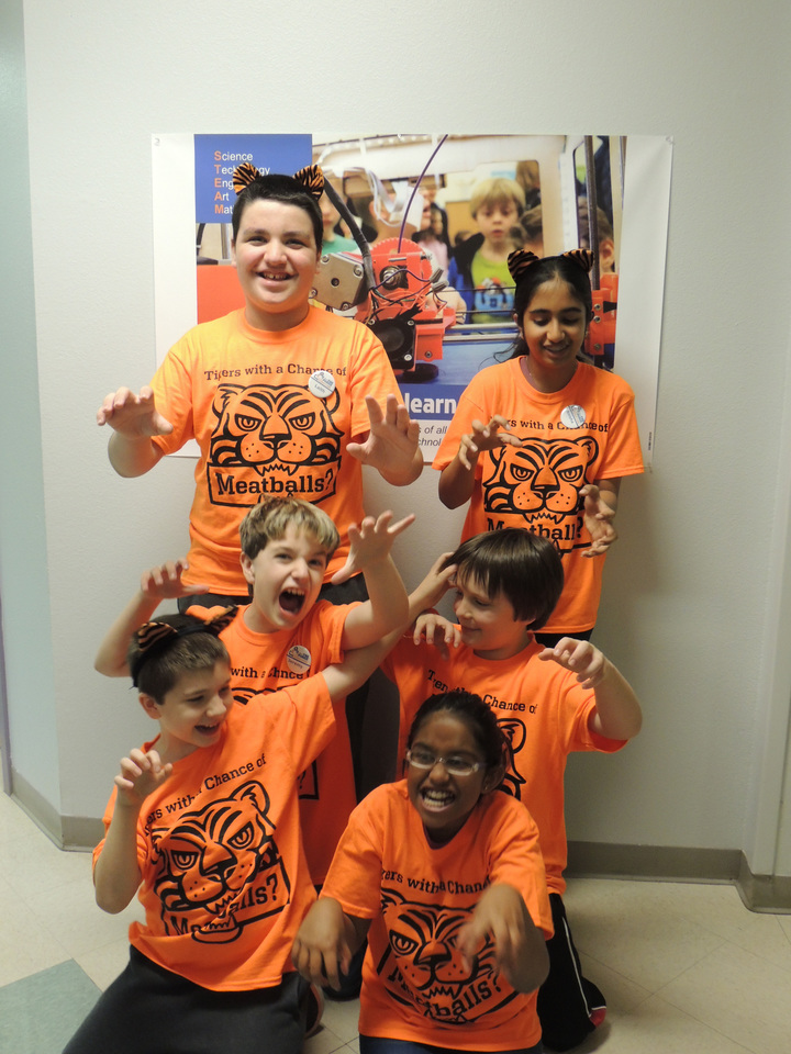 Tigers Roar! T-Shirt Photo