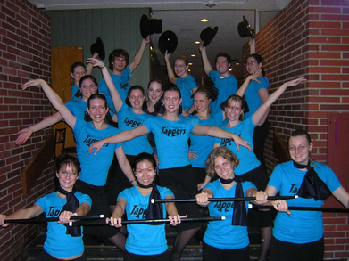 Case Western Reserve University Spartan Tappers T-Shirt Photo