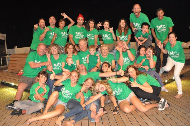 Family Fun On Board! T-Shirt Photo