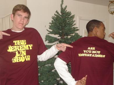The Jeremy Lin Show T-Shirt Photo