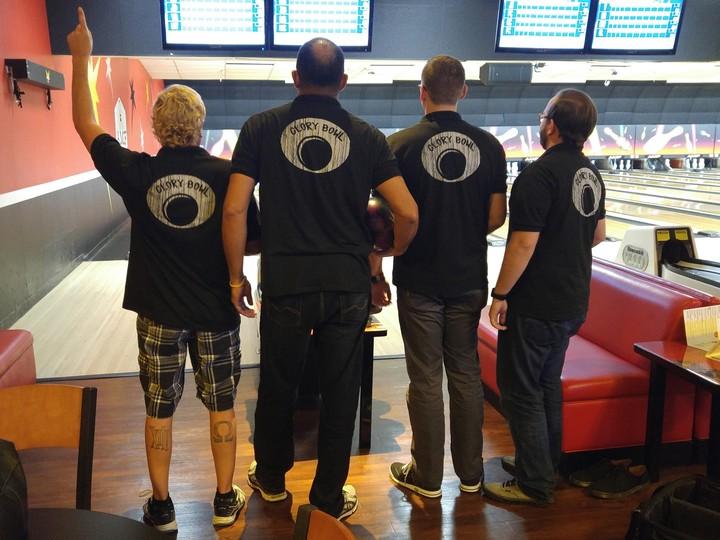 Custom Ink Makes Bowling Shirts! T-Shirt Photo