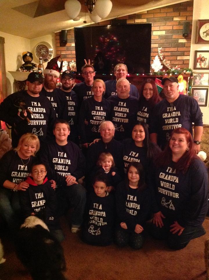 Grandpa World Survivors  T-Shirt Photo