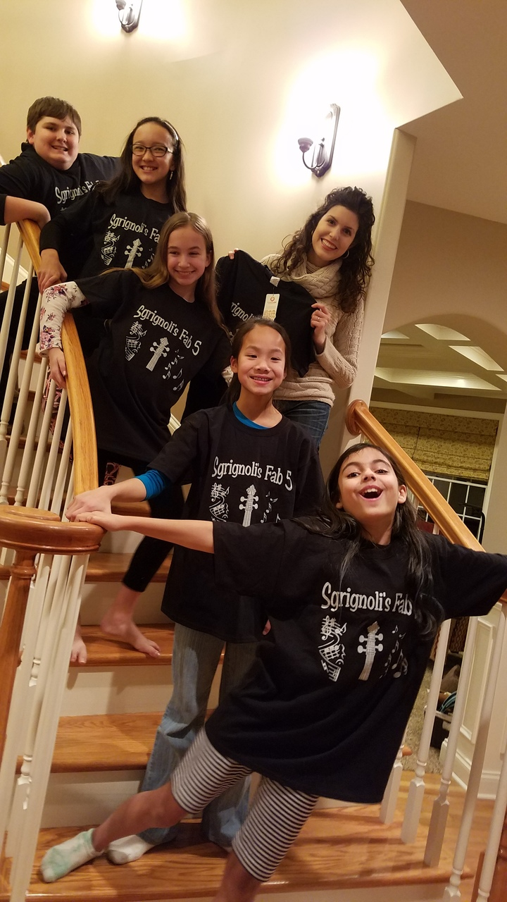 Sgrignoli's Fab 5 T-Shirt Photo