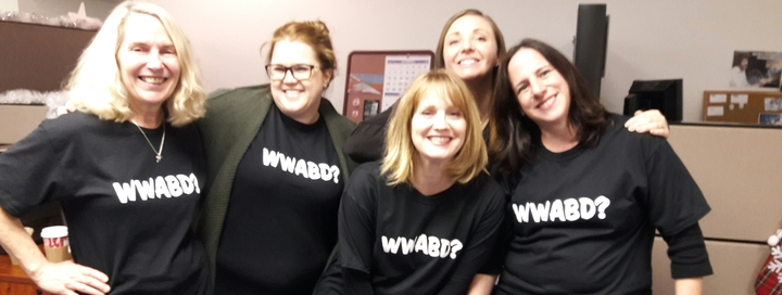 What Would Amy Barry Do? T-Shirt Photo
