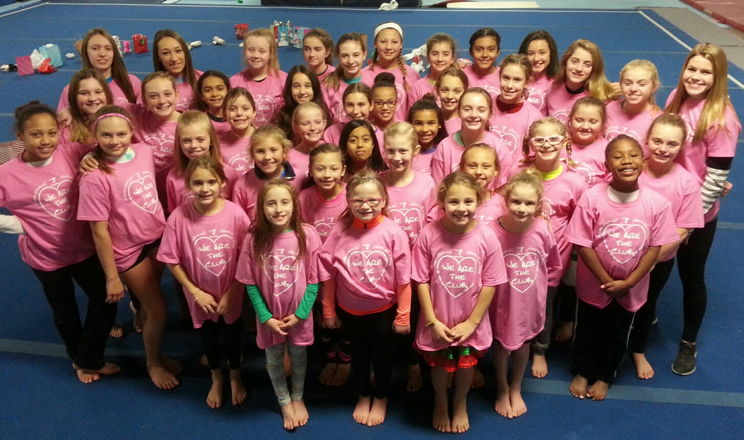 Team Christmas Party Ideas Part - 26: The Club For Gymnastics Annual Christmas Party 2016 T-Shirt Photo