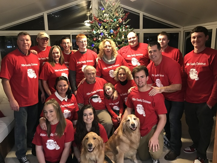 Miller Family Christmas  T-Shirt Photo