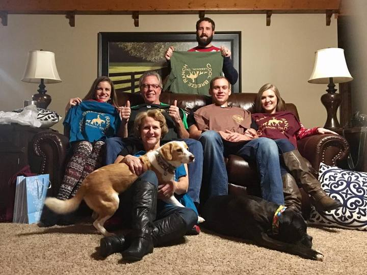 Merry Christmas From Cool Breeze Ranch T-Shirt Photo