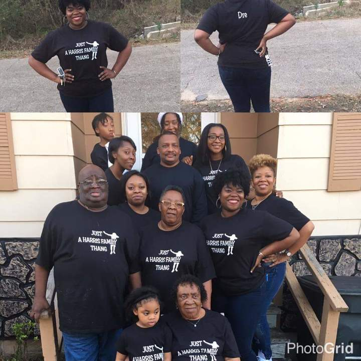 The Harris Family  Sumrall Ms Christmas 2016 T-Shirt Photo