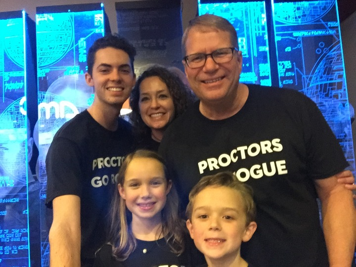 Proctors Go Rogue T-Shirt Photo