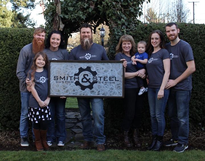 Smith & Steel Custom Design T-Shirt Photo