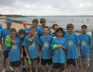 Tvsc 11 And 12 Year Old Boys At Open Water Chaampionships T-Shirt Photo