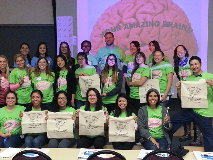 99 Minutes Of Neuro   Delivered By Dr. Puder & Mot Students At Smu T-Shirt Photo