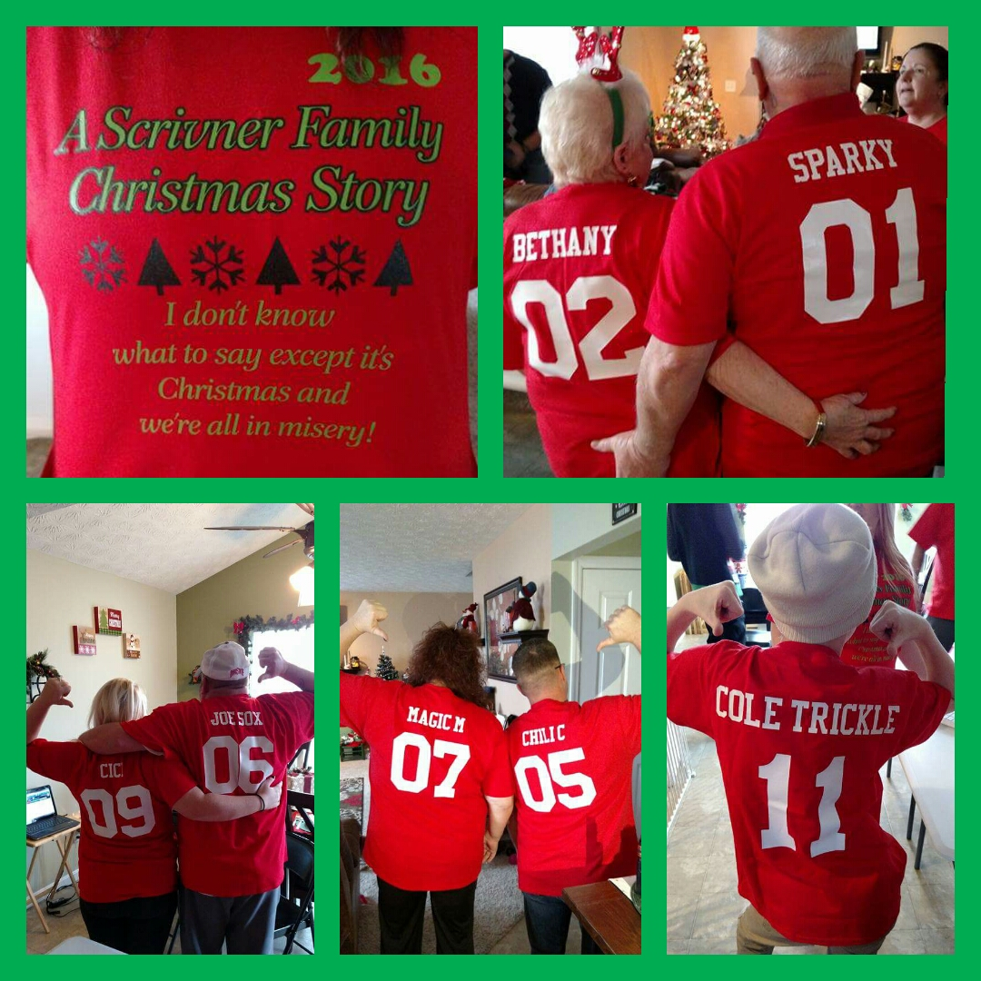 the scrivner family christmas story t shirt photo