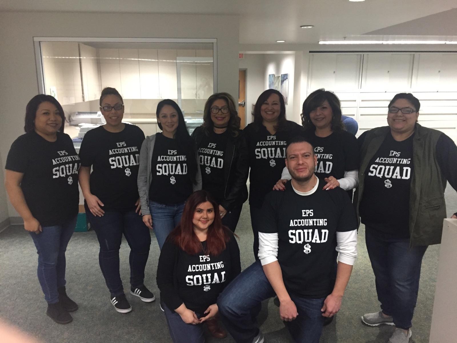 Accounting Squad T Shirt Photo