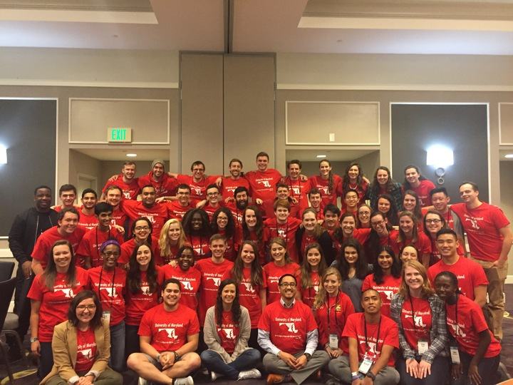 University Of Maryland At Seek 2017 T-Shirt Photo