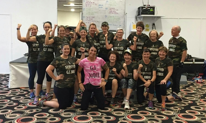 G.I Jodie And Her Hiit Class T-Shirt Photo