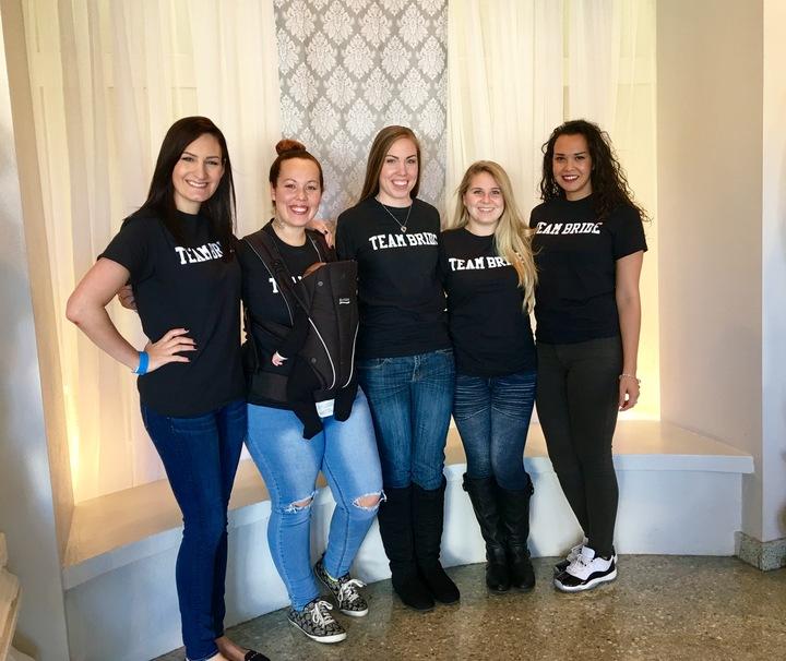 Team Bride  T-Shirt Photo